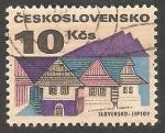Stamps Czechoslovakia -  1922 - Vista de Liptov, Eslovaquia
