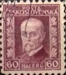 Stamps : Europe : Czechoslovakia :  60 h.1927