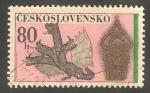Sellos de Europa - Checoslovaquia -  1932 - Objeto de ornamentación y dragón de 4 cabezas