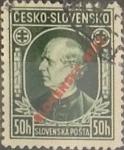 Sellos de Europa - Eslovaquia -  Intercambio 0,70 usd 50 h. 1939
