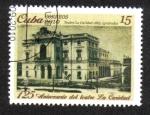 Sellos de America - Cuba -  125 Aniversario del teatro La Caridad