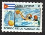 Sellos del Mundo : America : Cuba : Torneo de La Amistad 84