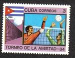 Sellos de America - Cuba -  Torneo de La Amistad 84