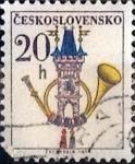 Sellos del Mundo : Europa : Checoslovaquia : Intercambio 0,20  usd 20 h. 1974