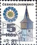 Sellos de Europa - Checoslovaquia -  Intercambio 0,20  usd 5 k. 1972