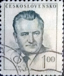 Stamps Czechoslovakia -  Intercambio 0,20  usd  1 k. 1952