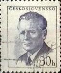Sellos de Europa - Checoslovaquia -  Intercambio 0,20  usd  30 h. 1958