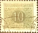 Sellos de Europa - Checoslovaquia -  Intercambio 0,20  usd  10 h. 1955