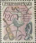 Sellos de Europa - Checoslovaquia -  Intercambio 0,20  usd  20 h. 1971