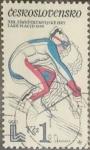 Sellos de Europa - Checoslovaquia -  Intercambio crxf 0,20  usd  1 k. 1980