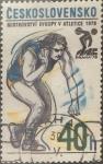 Sellos de Europa - Checoslovaquia -  Intercambio 0,20  usd  40 h. 1978