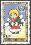 Sellos del Mundo : Asia : Mongolia : Dia del niño, UNICEF