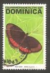 Sellos del Mundo : America : Dominica : 1298 - Mariposa