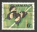 Stamps : America : Jamaica :   230 - Mariposa papino homerus