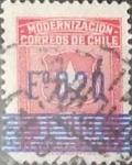 Sellos de America - Chile -  Intercambio 0,20  usd  20 cents. 1972