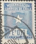 Sellos de America - Chile -  Intercambio 0,20  usd  10 cents. 1970