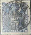 Sellos de America - Chile -  Intercambio 0,50  usd  5 cents. 1883