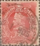 Sellos de America - Chile -  Intercambio 0,20  usd  2 cents. 1901