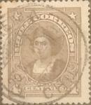 Stamps Chile -  Intercambio 0,20  usd  4 cents. 1918