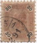Sellos de Europa - Austria -  Y & T Nº 63 (2)