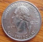 monedas de America - Estados Unidos -  MONEDA USA CONMEMORATIVA ESTADOS- ALABAMA - ANVERSO