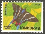 Stamps Honduras -  753 - Mariposa