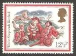 Stamps United Kingdom -  1062 - Navidad