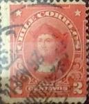 Sellos del Mundo : America : Chile : 2 cents. 1912