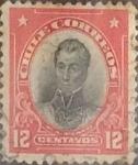 Sellos de America - Chile -  Intercambio 0,20  usd  12 cents. 1911