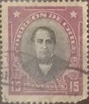 Sellos de America - Chile -  Intercambio 0,20  usd  15 cents. 1929
