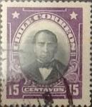 Sellos de America - Chile -  Intercambio 0,20  usd  15 cents. 1911