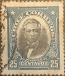 Stamps : America : Chile :  25 cents. 1911
