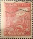 Sellos de America - Chile -  Intercambio 0,20  usd  10 cents. 1939