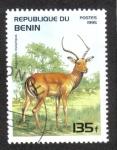 Sellos de Africa - Benin -  Animales Salvajes