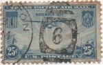 Stamps United States -  Y & T Nº 21 Aereo