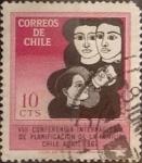 Sellos de America - Chile -  Intercambio 0,20  usd 10 cents. 1967