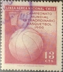 Sellos de America - Chile -  Intercambio 0,20  usd 13 cents. 1966
