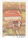 Sellos de Europa - Croacia -  castillo de Cakovec