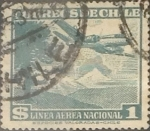 Sellos de America - Chile -  Intercambio 0,20  usd 1 peso 1950
