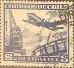 Sellos de America - Chile -  Intercambio 0,20  usd 3 peso 1950