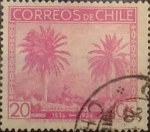 Sellos de America - Chile -  Intercambio 0,25 usd 20 cents. 1936