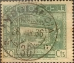 Sellos del Mundo : America : Chile : Intercambio 0,25 usd 30 cents. 1936