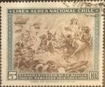 Sellos del Mundo : America : Chile : Intercambio 0,20 usd 5 cents. 1965