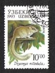 Stamps Uzbekistan -  Fauna of Uzbekistan