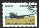 Sellos de Asia - Uzbekistán -  Aeronaves de de Tashkent Aircraft Factory
