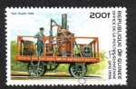 Sellos de Africa - Guinea -  Old Locomotives