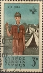 Stamps : Asia : Cyprus :  Intercambio crxf2 0,20 usd 3 miles. 1963