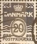Sellos de Europa - Dinamarca -  Intercambio 0,20 usd 20 ore 1974
