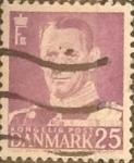 Sellos de Europa - Dinamarca -  Intercambio 0,20 usd 25 ore 1955