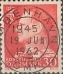 Sellos de Europa - Dinamarca -  Intercambio 0,20 usd 30 ore 1961